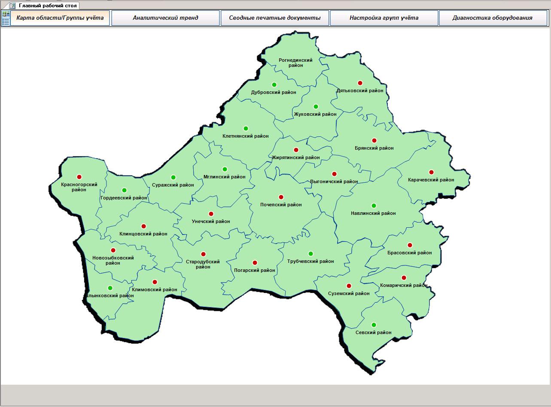 брянская область карта картинка сдержанный праздник